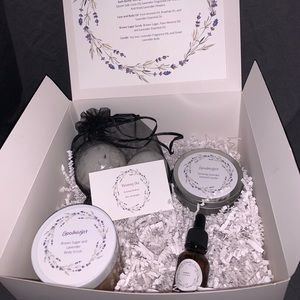 Relaxing Lavender gift box